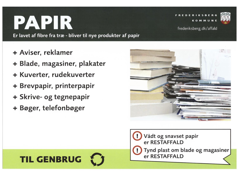 reklamer til aviser